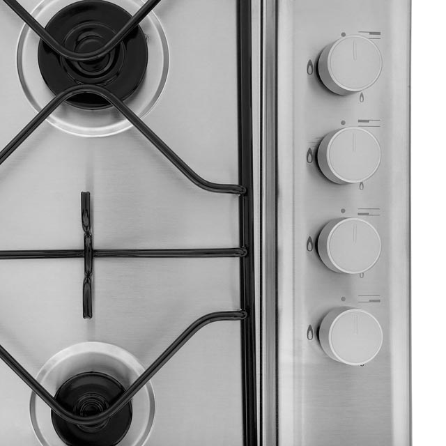 Hotpoint Newstyle PAN642IXH Built In Gas Hob - Stainless Steel - PAN642IXH_SS - 2
