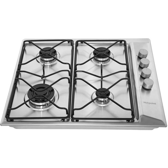 Hotpoint Newstyle PAN642IXH Built In Gas Hob - Stainless Steel - PAN642IXH_SS - 4
