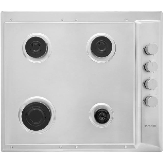 Hotpoint Newstyle PAN642IXH Built In Gas Hob - Stainless Steel - PAN642IXH_SS - 5