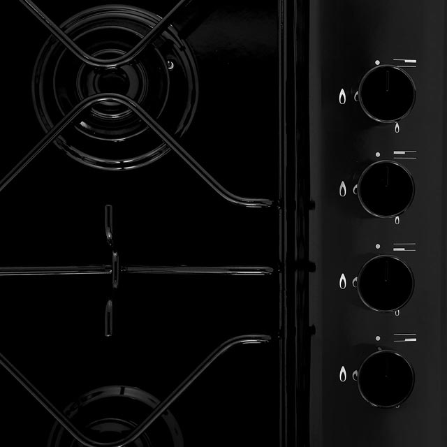 Hotpoint PAS642H Built In Gas Hob - White - PAS642H_WH - 3