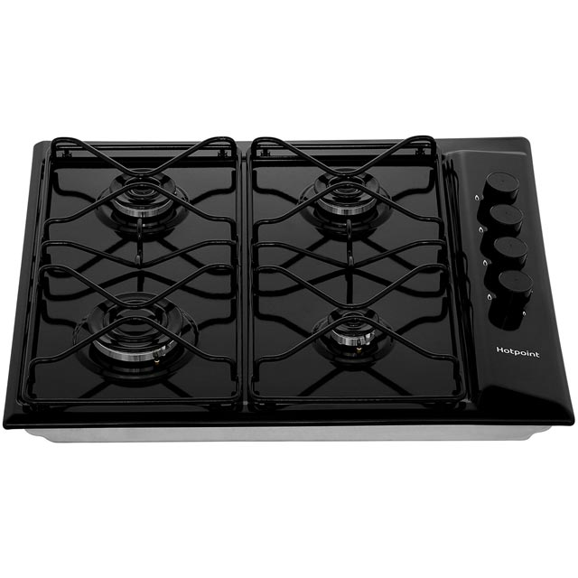 Hotpoint PAS642H Built In Gas Hob - White - PAS642H_WH - 5