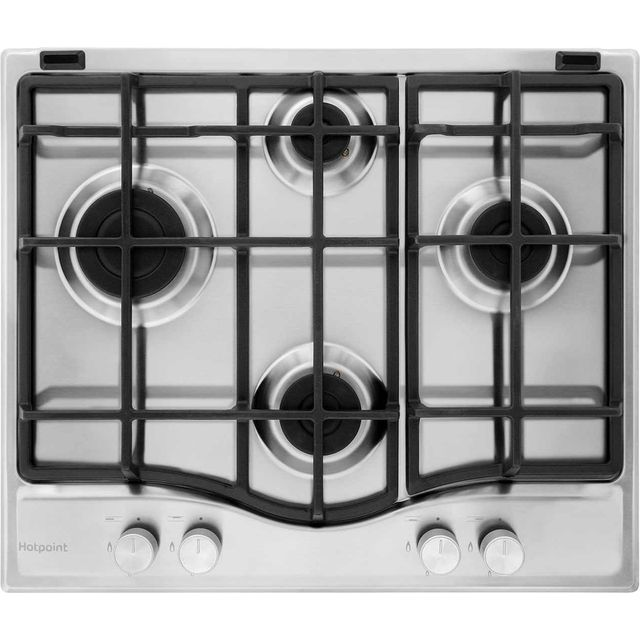 Hotpoint Ultima 59cm Gas Hob - Stainless Steel