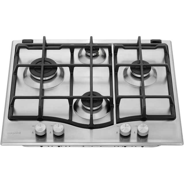 Hotpoint Ultima PCN641IXH Built In Gas Hob - Stainless Steel - PCN641IXH_SS - 4