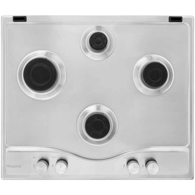 Hotpoint Ultima PCN641IXH Built In Gas Hob - Stainless Steel - PCN641IXH_SS - 5