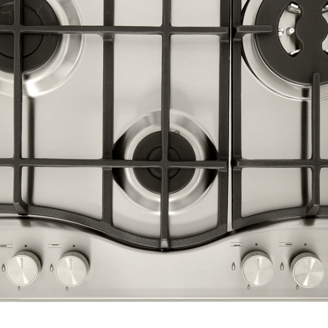 Hotpoint PCN641T/IX/H Built In Gas Hob - Stainless Steel - PCN641T/IX/H_SS - 3