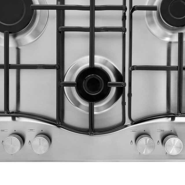 Hotpoint Newstyle PCN642IXH Built In Gas Hob - Stainless Steel - PCN642IXH_SS - 2