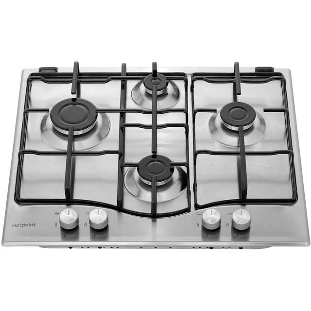 Hotpoint Newstyle PCN642IXH Built In Gas Hob - Stainless Steel - PCN642IXH_SS - 4