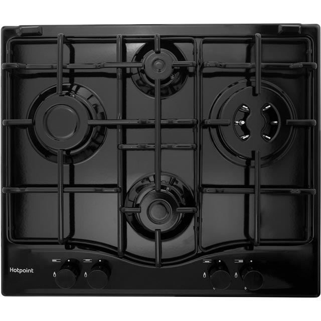 Hotpoint PCN642T/H Integrated Gas Hob in Black
