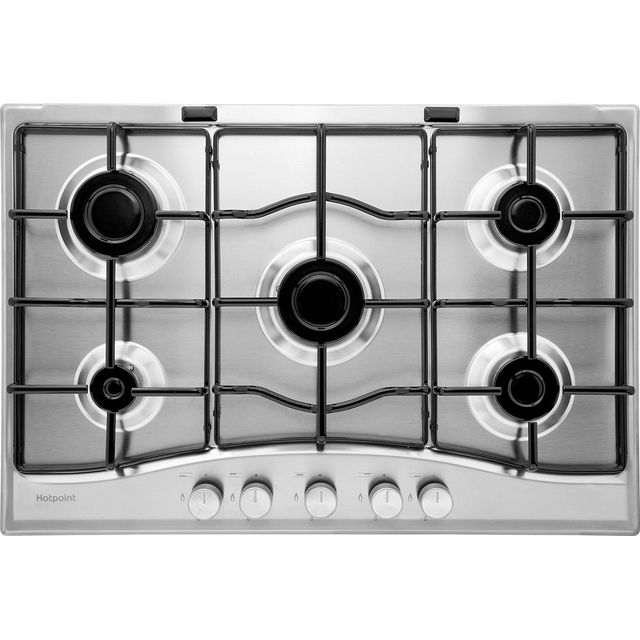 Hotpoint PCN752IX/H Built In Gas Hob - Stainless Steel - PCN752IX/H_SS - 1