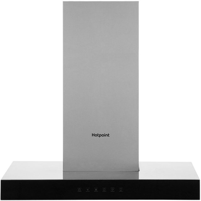 Hotpoint 60 cm Chimney Cooker Hood - Stainless Steel - A Rated