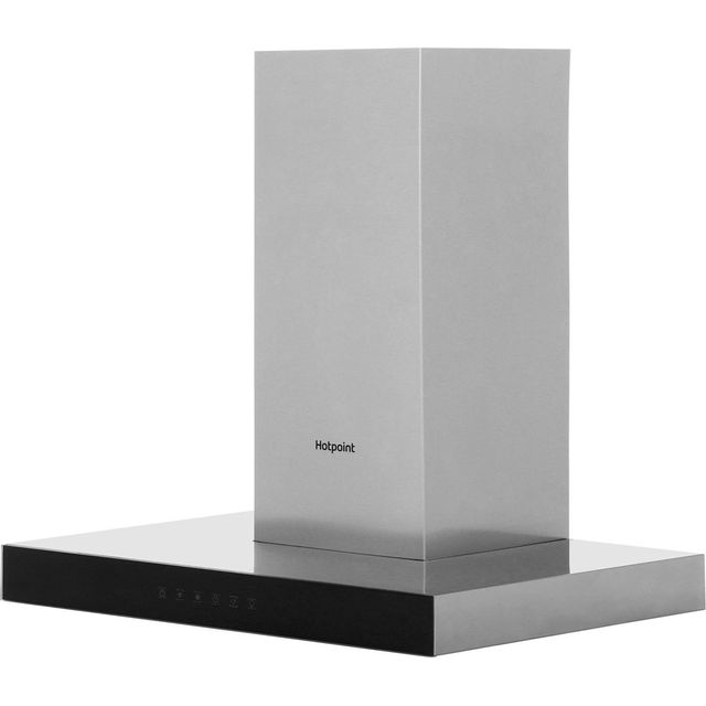 Hotpoint PHBS6.8FLTIX 60 cm Chimney Cooker Hood – Stainless Steel – A Rated