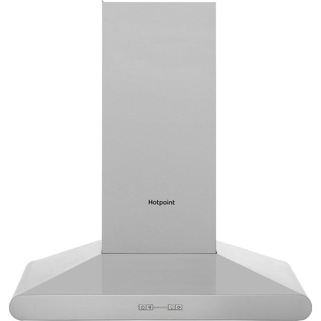 Hotpoint PHC67FLBIX 60 cm Chimney Cooker Hood - Stainless Steel - B Rated - PHC67FLBIX_SS - 1