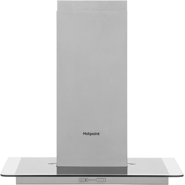 Hotpoint PHFG65FABX 60 cm Chimney Cooker Hood - Stainless Steel - C Rated
