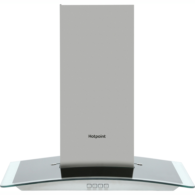 Hotpoint PHGC6.4FLMX 60 cm Chimney Cooker Hood - Stainless Steel - D Rated - PHGC6.4FLMX_SS - 1