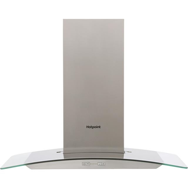 Hotpoint PHGC75FABX 70 cm Chimney Cooker Hood - Stainless Steel - C Rated