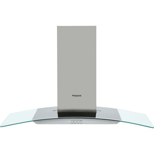 Hotpoint PHGC9.4FLMX 90 cm Chimney Cooker Hood - Stainless Steel - D Rated - PHGC9.4FLMX_SS - 1