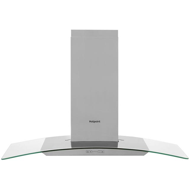 Hotpoint PHGC95FABX 90 cm Chimney Cooker Hood - Stainless Steel - C Rated