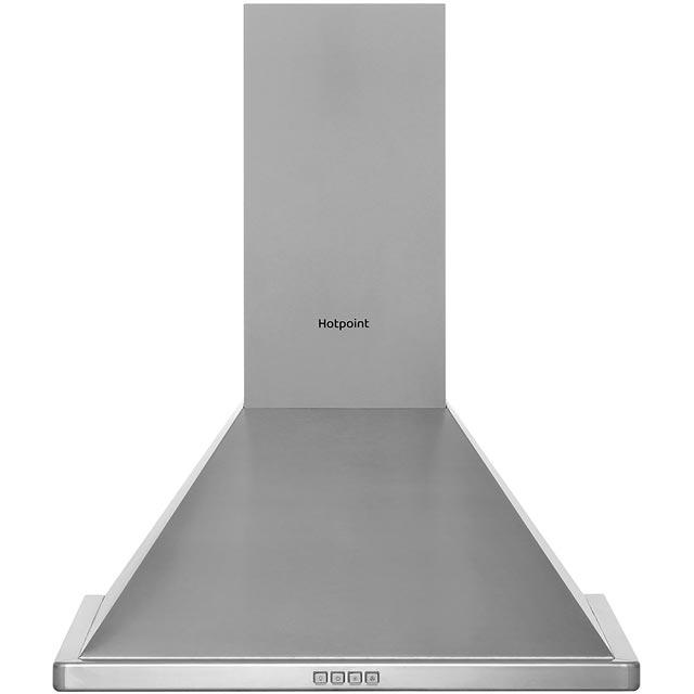 Hotpoint PHPN64FAMX 60 cm Chimney Cooker Hood - Stainless Steel - D Rated