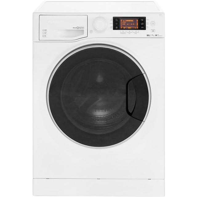 Hotpoint Ultima S-Line RD1076JD 10Kg / 7Kg Washer Dryer with 1600 rpm - White - A Rated - RD1076JD_WH - 1