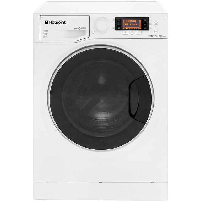 Hotpoint Ultima S-Line RD1076JD Washer Dryer - White - RD1076JD_WH - 1