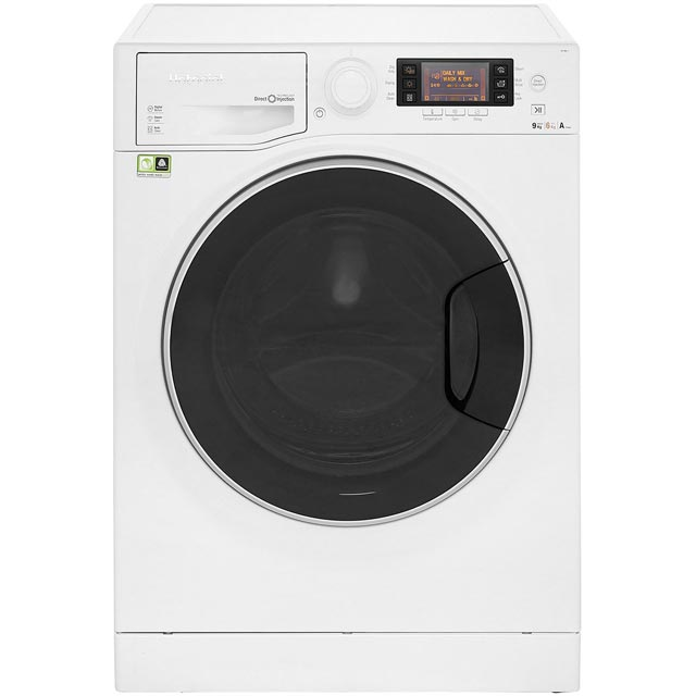 Hotpoint Ultima S-Line RD1176JD 11Kg / 7Kg Washer Dryer with 1600 rpm - White - A Rated - RD1176JD_WH - 1