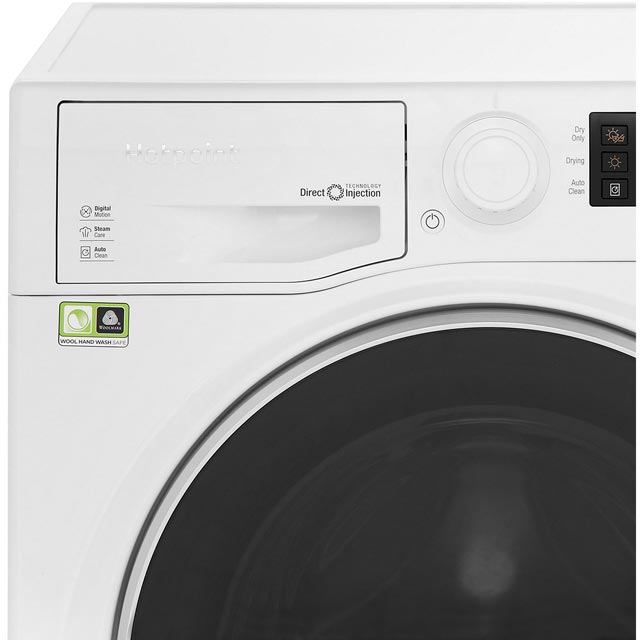 Hotpoint Ultima S-Line RD1176JD 11Kg / 7Kg Washer Dryer with 1550 rpm - White - RD1176JD_WH - 3