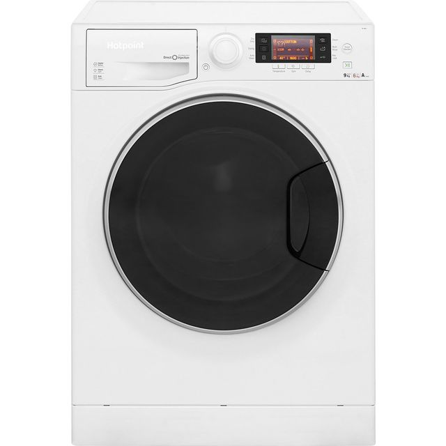 Hotpoint Ultima S-Line RD966JD Free Standing Washer Dryer in White