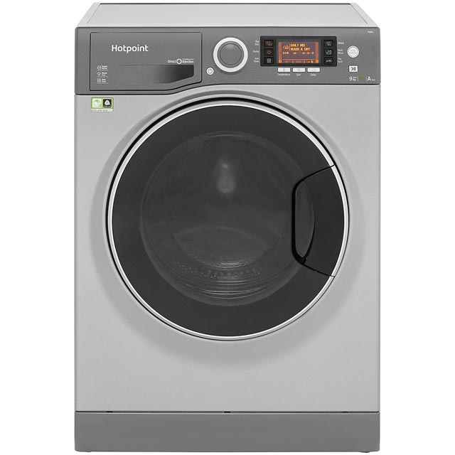 Hotpoint Ultima S-Line RD966JGD 9Kg / 6Kg Washer Dryer with 1600 rpm - Graphite - A Rated - RD966JGD_GH - 1