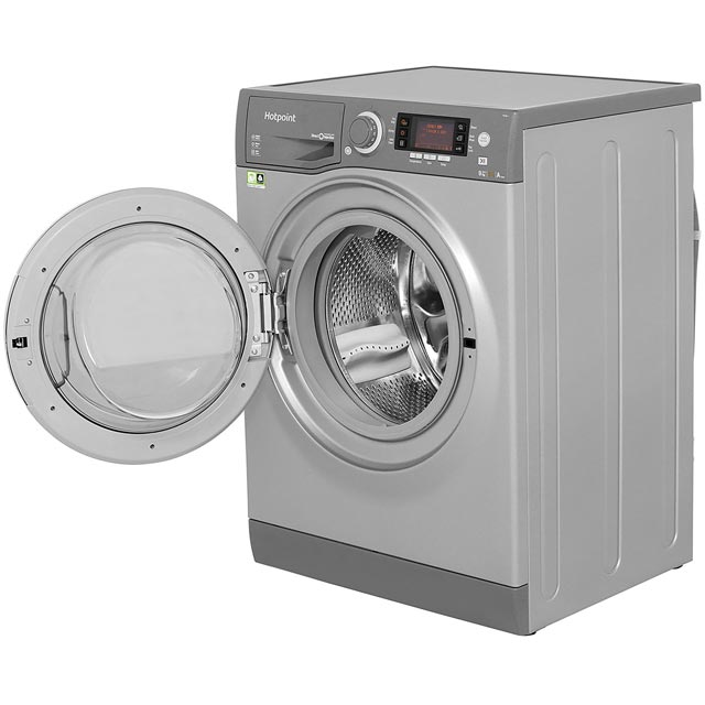 Hotpoint Ultima S-Line RD966JGD 9Kg / 6Kg Washer Dryer - Graphite - RD966JGD_GH - 2