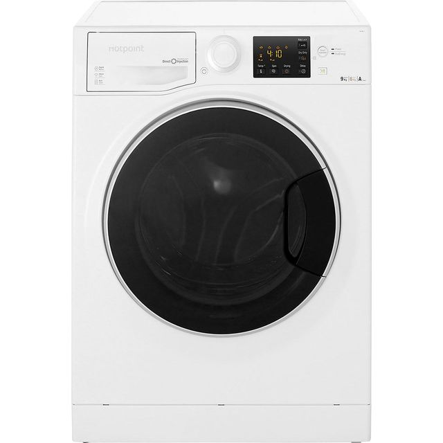 Hotpoint Ultima S-Line RG964JD 9Kg / 6Kg Washer Dryer with 1400 rpm - White - A Rated - RG964JD_WH - 1