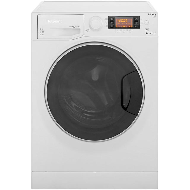 Hotpoint Ultima S-Line 9Kg Washing Machine - White - A+++ Rated