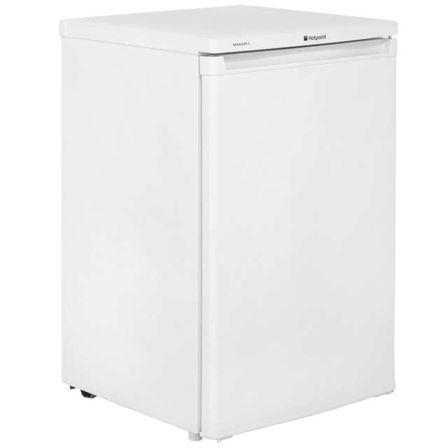 Hotpoint RSAAV22P Fridge with Ice Box - White - A+ Rated