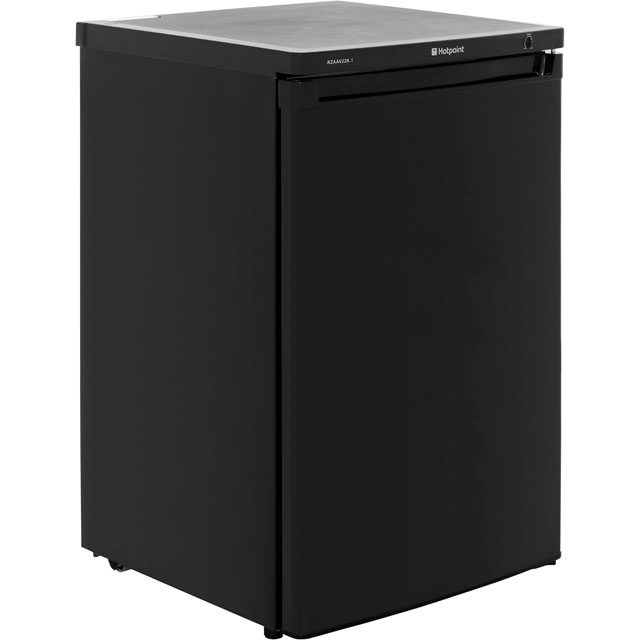 Hotpoint Future RZAAV22K.1 Under Counter Freezer - Black - A+ Rated - RZAAV22K.1_BK - 1