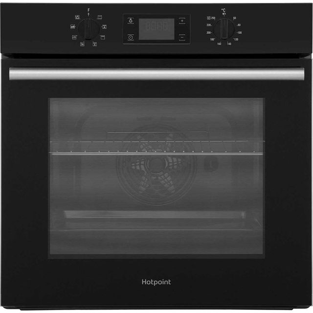 Hotpoint Class 2 SA2540HBL Built In Electric Single Oven - Black - A Rated - SA2540HBL_BK - 1