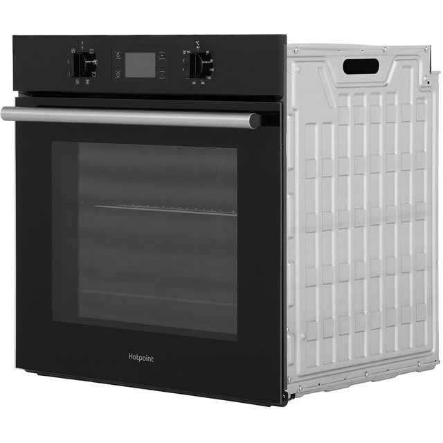 Hotpoint Class 2 SA2540HIX Built In Electric Single Oven - Stainless Steel - SA2540HIX_SS - 3