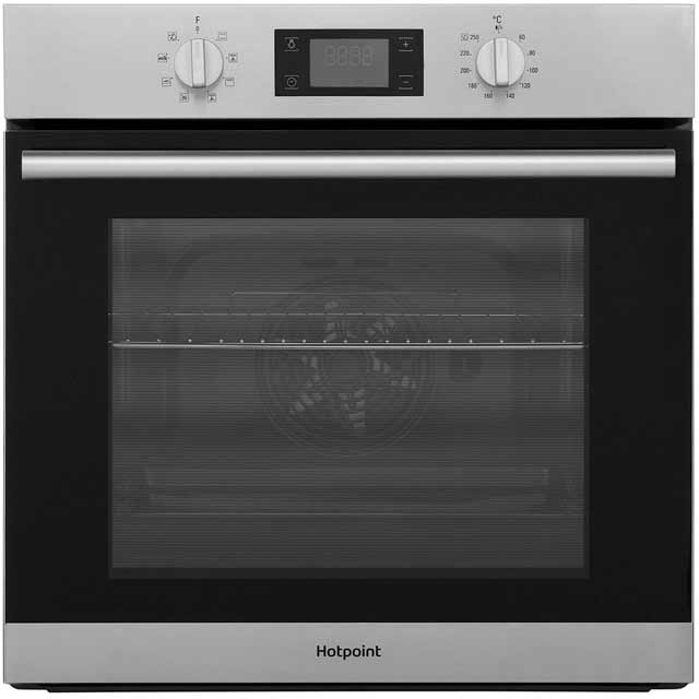 Hotpoint Class 2 SA2540HIX Built In Electric Single Oven - Stainless Steel - A Rated - SA2540HIX_SS - 1