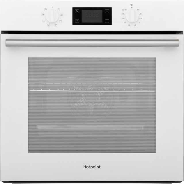 Hotpoint Class 2 SA2540HWH Built In Electric Single Oven - White - A Rated - SA2540HWH_WH - 1