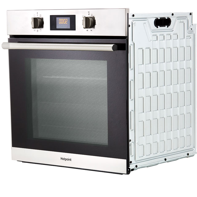 Hotpoint Class 2 SA2840PIX Built In Electric Single Oven - Stainless Steel - SA2840PIX_SS - 3