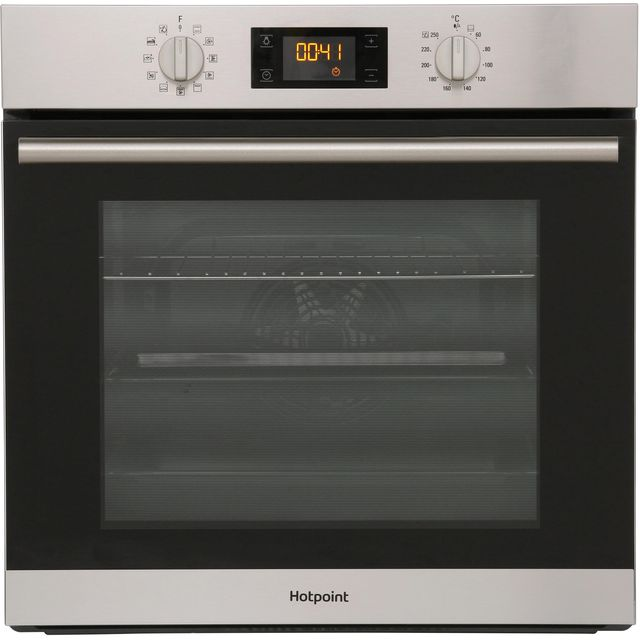 Hotpoint Class 2 SA2844HIX Built In Electric Single Oven - Stainless Steel - SA2844HIX_SS - 1