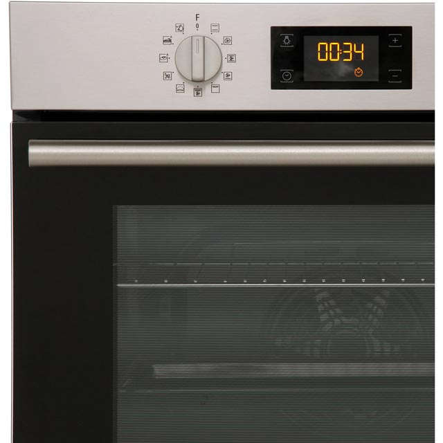Hotpoint Class 2 SA2844HIX Built In Electric Single Oven - Stainless Steel - SA2844HIX_SS - 3