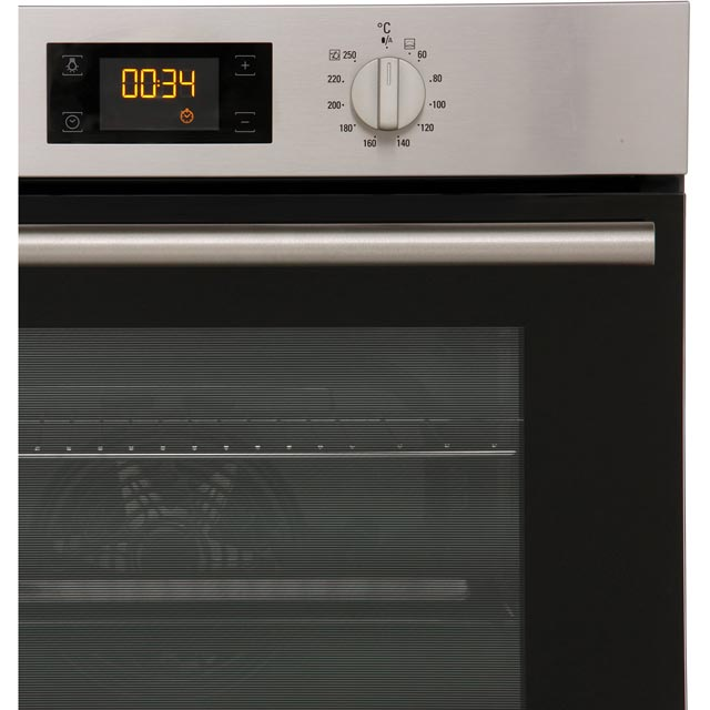 Hotpoint Class 2 SA2844HIX Built In Electric Single Oven - Stainless Steel - SA2844HIX_SS - 4