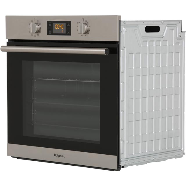 Hotpoint Class 2 SA2844HIX Built In Electric Single Oven - Stainless Steel - SA2844HIX_SS - 5
