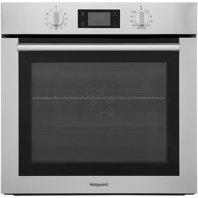 Hotpoint Class 4 SA4844PIX Built In Electric Single Oven - Stainless Steel - A+ Rated