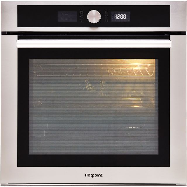 Hotpoint Class 4 SI4854HIX Built In Electric Single Oven - Stainless Steel - SI4854HIX_SS - 1