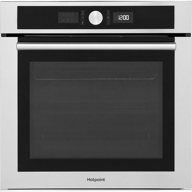 Hotpoint SI4854PIX Built In Electric Single Oven - Stainless Steel - A+ Rated - SI4854PIX_SS - 1