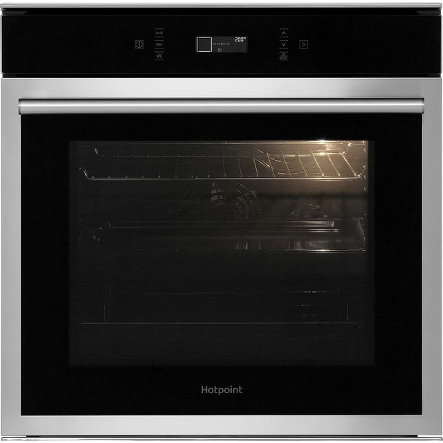 Hotpoint SI6874SHIX Built In Electric Single Oven - Stainless Steel - A+ Rated - SI6874SHIX_SS - 1