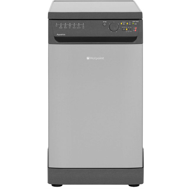 Hotpoint Aquarius Slimline Dishwasher - Graphite - A+ Rated