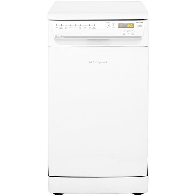 Hotpoint Ultima Slimline Dishwasher - White - A++ Rated