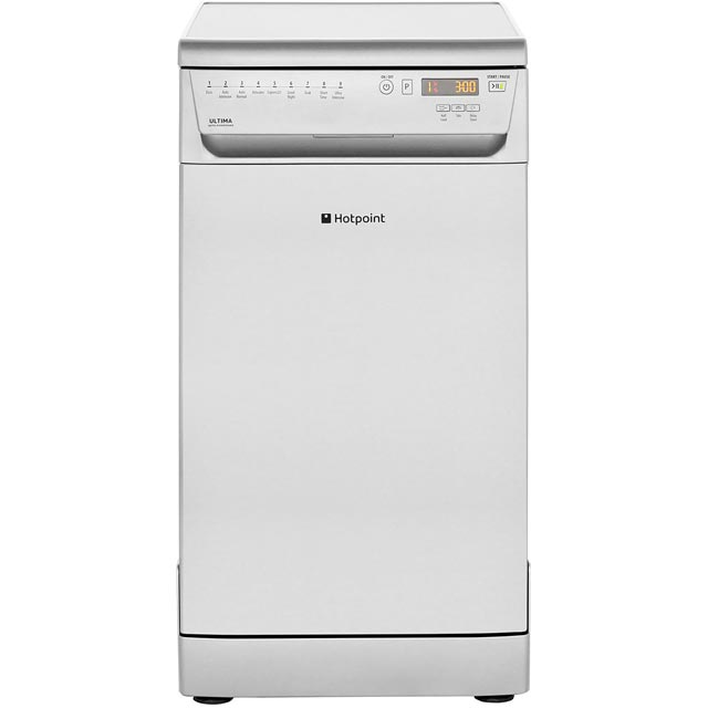 Hotpoint Ultima Slimline Dishwasher - Stainless Steel - A++ Rated