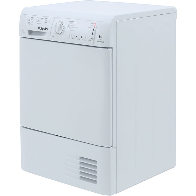 Hotpoint TCHL870BP Condenser Tumble Dryer - White - TCHL870BP_WH - 5